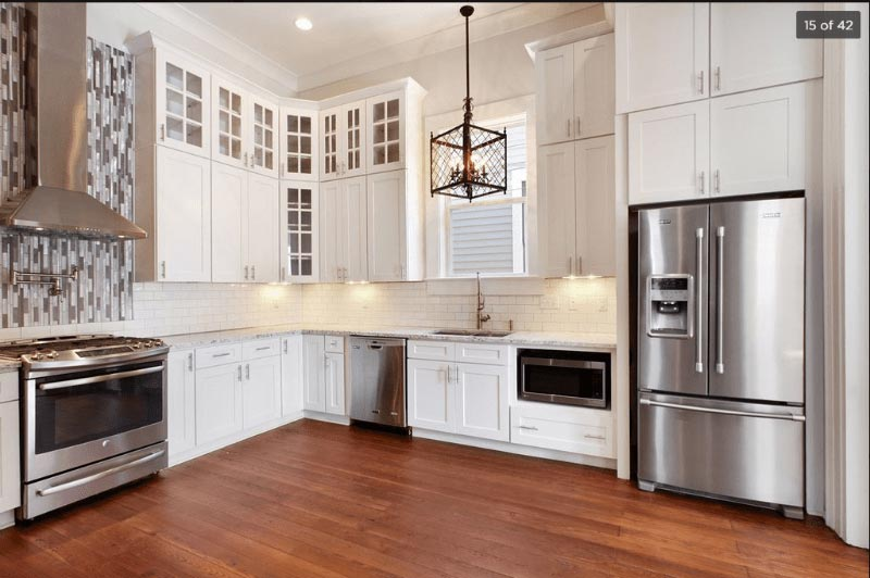 - Kitchen Cabinets -D2 White Shaker jacksonville solid wood cabinets D 815 Avigna Granite World