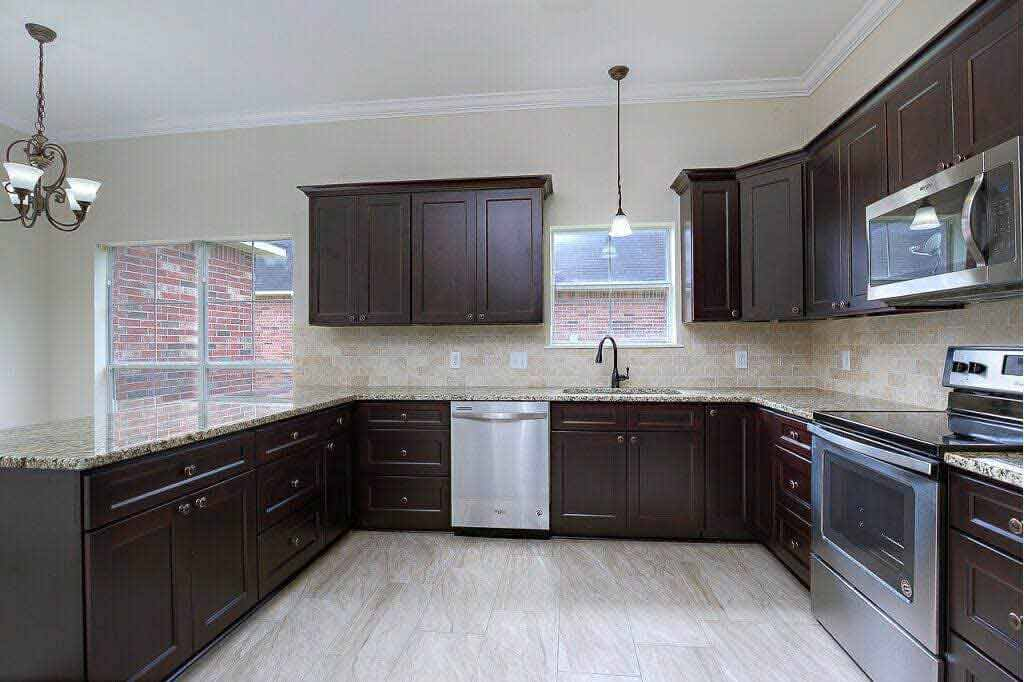 - Kitchen Cabinets -G1 Expresso Shake jacksonville solid wood cabinets G 834 Avigna Granite World