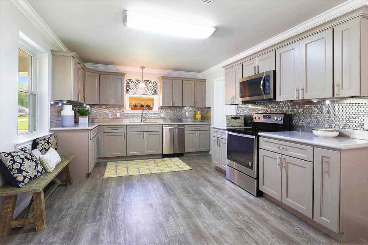 - Kitchen Cabinets -G4 Grey Shaker jacksonville solid wood cabinets G 830 Avigna Granite World